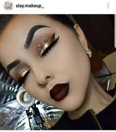 eyeliner – Great Make Up Ideas Gorgeous Makeup, Pretty Makeup, Love Makeup, Makeup Inspo, Makeup Inspiration, Black Makeup Looks, Gorgeous Gorgeous, Makeup Style, Glam Makeup
