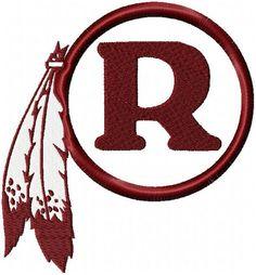Washington Redskins Logo Pumpkin Stencil Chris Creamer S