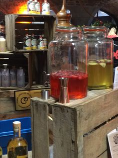Gin Festival, Conkers, Whiskey Bottle, Liquor Cabinet, Drinks, Crafts, Home Decor, Drinking, Beverages
