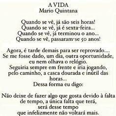 "2,192 Likes, 64 Comments - ⠀ TERAPIA  DA  ALMA OFICIAL (@terapia_da_alma) on Instagram: ""Via @psicologofurlaneto  #boatarde #boasvibrações #vida #tempo #positividade #goodvibes #poesia…"""