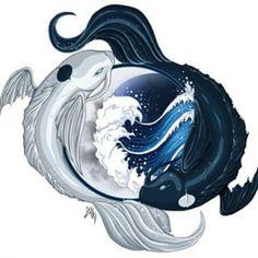 Pisces/Aquarius yin-yang