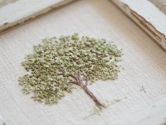 kit de bordado - summer tree the stitchery # stickpackung - summer tree die stickerei Diy Embroidery Flowers, French Knot Embroidery, Embroidery Stitches Tutorial, Simple Embroidery, Embroidery Patterns, Embroidery Hoops, Art Patterns, Japanese Embroidery, Embroidered Flowers