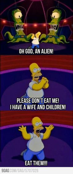 Homer being Homer… The Simpsons never fails to make you giggle! The Simpsons, Simpsons Funny, Simpsons Quotes, Learning French For Kids, Teaching French, Image Simpson, Funny Jokes, Hilarious, Jokes
