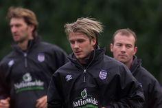 gogoalshop.com David Beckham in 1999 Sir Alex Ferguson, Fifa World Cup, David Beckham, Manchester United, Victoria Beckham, My Best Friend, Euro, Career, Hair Cuts