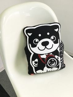 Cushions & pillows – Shiba dog pillow stuffe, akita inu dog pillow, – a unique product by nipponikcat on DaWanda