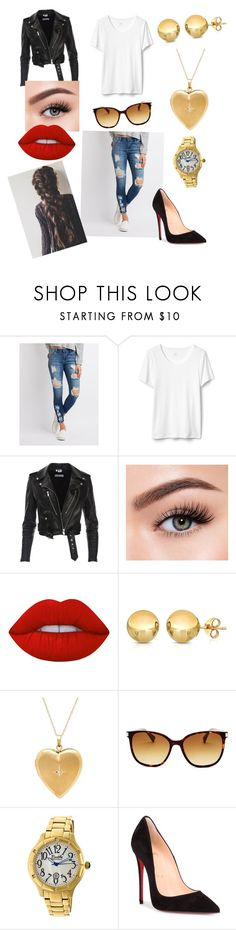 """""""Date Night in London"""" by misshathor on Polyvore featuring Cello, Morphe, Lime Crime, Sevil Designs, Longchamp, Bertha and Christian Louboutin"""