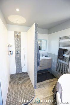 Renovation of bathroom, Mélissa Desbriel - Home Projects - Bathroom 02 House Bathroom, Bathroom Inspiration, Bathroom Interior, Small Bathroom, Bathrooms Remodel, Bathroom Decor, Bathroom Design, Renovations, Home Projects