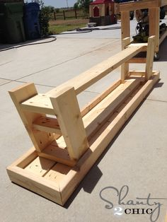 Hey there! Join us on Instagram and Pinterest to keep up with our most recent projects and sneak peeks! We're coming to YouTube soon! Make sure to subscribe to our channel! Hey there! As, promised, I am back with the matching benches to my Outdoor Dining Table! If you missed the free plans and the {...Read More...}
