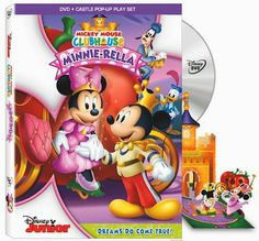 Mickey Mouse Clubhouse: Minnie-Rella DVD Review