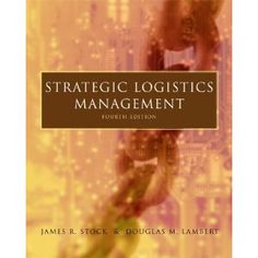 Strategic Logistics Management (Hardcover)  http://lupinibeans.com/amazonimage.php?p=0256136874  0256136874