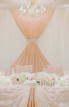 how pretty is this!!! maybe not for the reception though maybe for the Bridal shower?