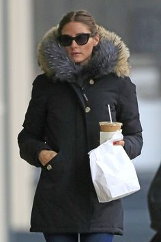 olivia palermo winter | Olivia Palermo Bundles Up in NYC