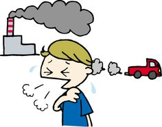 Environmental disruption exhaust gas  環境破壊 排気ガス