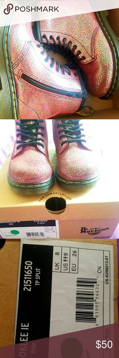 Dr. MARTENS toddler boots Toddlers dr martens Brooklee dr martens size 9 Great condition Box included Dr. Martens Shoes Boots