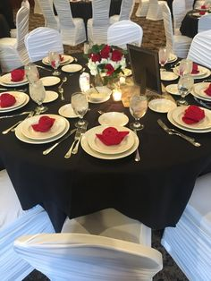 godfather themed birthday party at the Andiamo Banquet Center 40th Birthday Parties, Birthday Ideas, Mafia Theme Party, 50 Fabulous Birthday, Sweet 16 Themes, Wedding Table Settings, The Godfather, Fundraising, Tablescapes