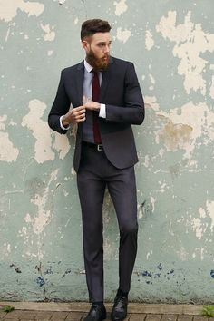 billy huxley looks good clothed as well Dapper Gentleman, Gentleman Style, Sharp Dressed Man, Well Dressed Men, Suits And Tattoos, Billy Huxley, Gents Fashion, Guy Fashion, Street Fashion