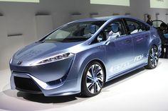 Toyota Fcv R Concept на водородном двигателе Fuel Cell Cars Pem
