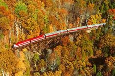 Beautiful fall view dinner train ride Bardstown KY.  Took mother there for her birthday one year!! Food was FAB!