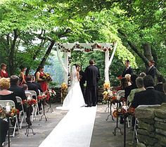 Lttle chimney at big canoe in north ga, beautiful venue for an outdoor fall wedding :)