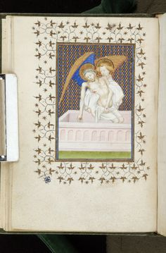 Book of Hours, MS M.743 fol. 17v - Images from Medieval and Renaissance Manuscripts - The Morgan Library & Museum
