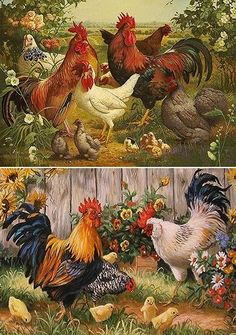 [New] The 10 Best Craft Ideas Today (with Pictures) - Napkin decoupage Open PO # decoupage Rooster Painting, Rooster Art, Rooster Decor, Chicken Painting, Chicken Art, Decoupage Vintage, Decoupage Paper, Napkin Decoupage, Arte Do Galo