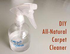 Comment composer un nettoyant naturel pour tapis?