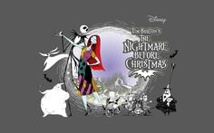 Background High Resolution: the nightmare before christmas