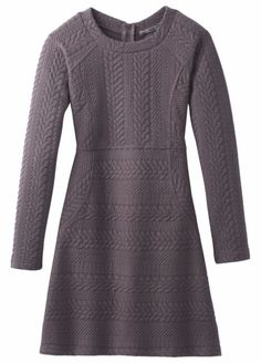NWT prAna Women's Macee Dress Gray Muted Truffle Indigo Size: Small    eBay