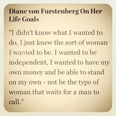 Hear Hear DVF! {quote courtesy of @british_vogue} - @belleandbunty- #webstagram