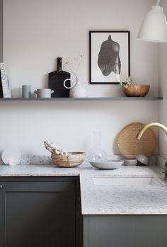 Home Decor Kitchen, Kitchen Interior, Home Kitchens, Kitchen Ideas, Kitchen Designs, Classic Kitchen, Cocinas Kitchen, Interior Desing, Scandinavian Kitchen
