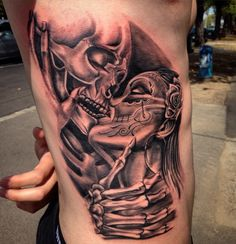 Chicano tattoo by tal wolf
