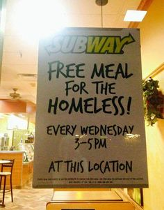 Subway Doing The Right Thing