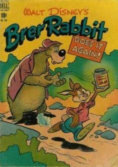 Walt Disney - 10 Cents - Dell - Brer Rabbit - Bear Brer Rabbit Does It Again