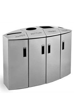 1000 images about poubelles de recyclage on pinterest. Black Bedroom Furniture Sets. Home Design Ideas