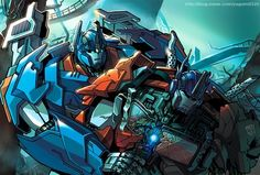 Ultra Magnus and Optimus Prime