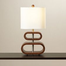 "Dorinda 19.5"" H Table Lamp with Drum Shade"