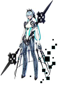 View an image titled 'Guardian Fourier Art' in our Terra Battle 2 art gallery featuring official character designs, concept art, and promo pictures. Female Character Design, Character Creation, Character Design References, Character Design Inspiration, Character Concept, Character Art, Concept Art, Character Ideas, Cyborg Anime