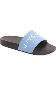 917944d45a1d Black Givenchy Logo Slide (Women) available at  Nordstrom Givenchy Slides
