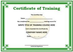 free editable certificates