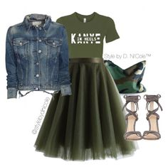 """""""Untitled #3240"""" by stylebydnicole ❤ liked on Polyvore featuring Chicwish, rag & bone/JEAN and Gianvito Rossi"""