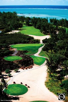 Le Touessrok Golf Course in Mauritius. Read our mag to see why this, in our books, is pure paradise. Page 24-25