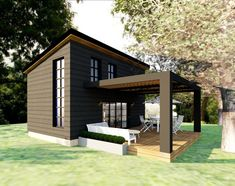 Guest House Plans, House Plans For Sale, Modern House Plans, Small House Plans, House Floor Plans, Tiny Houses For Sale, Tiny Cabin Plans, Inside Tiny Houses, Home Design