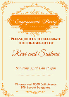 13 Best Engagement Invitation Wordings Images In 2015