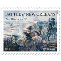 USPS Stamp: The War of 1812: Battle of New Orleans