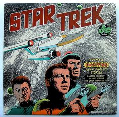 Star Trek Story LP Record From Classic Vintage Science Fiction Sci Fi TV Series | par YellowcakeMushroom