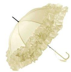 ruffled parasol