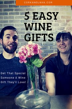 Easy and cheap wine gifts are great for Valentines Day or any other occasion for treating your special someone. We got you covered with our 5 best wine gift picks for Wine Games, Great Presentations, Wine Craft, Types Of Wine, Anniversary Dates, Cheap Wine, Gifts For Wine Lovers, Personalized Wine, Romantic Dates