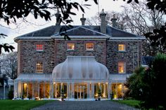 Relais & Chateaux- Marlfield House Ireland, others: ballyfin demesne, cliff house, park hotel kenmare, and sheen falls lodge