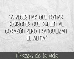 Decisiones...