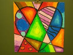 Picasso cubism and Jim Dine/Romero Brito heart art projects. plus lots of other art projects for and grade Classroom Art Projects, School Art Projects, Art Classroom, Family Art Projects, School Ideas, Kunst Picasso, Art Picasso, Pablo Picasso, Picasso Style